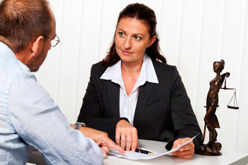 Man considering whether or not to hire a bankruptcy attorney